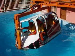 Curso de salvatagem para trabalhar embarcado
